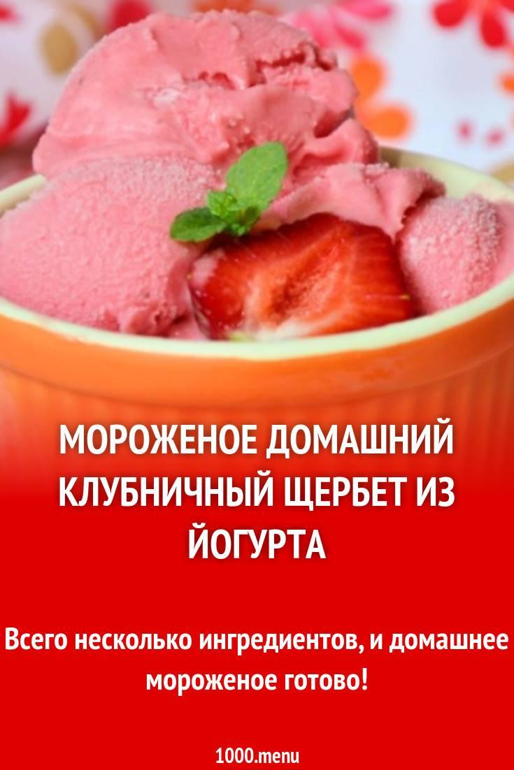 Сорбет — рецепт в домашних условиях. как самостоятельно приготовить фруктовый сорбет?