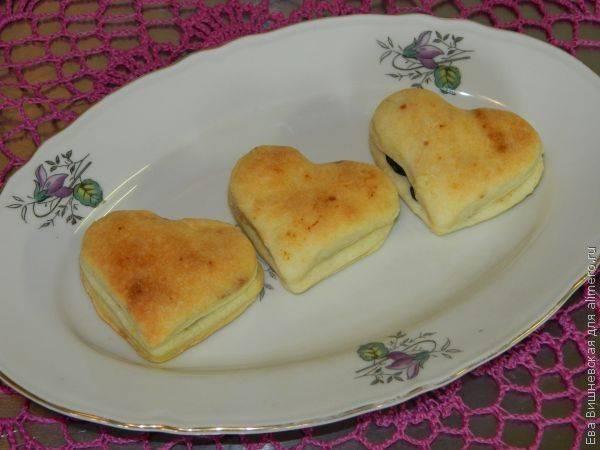 """Печенье """"лимонные сердечки"""""""