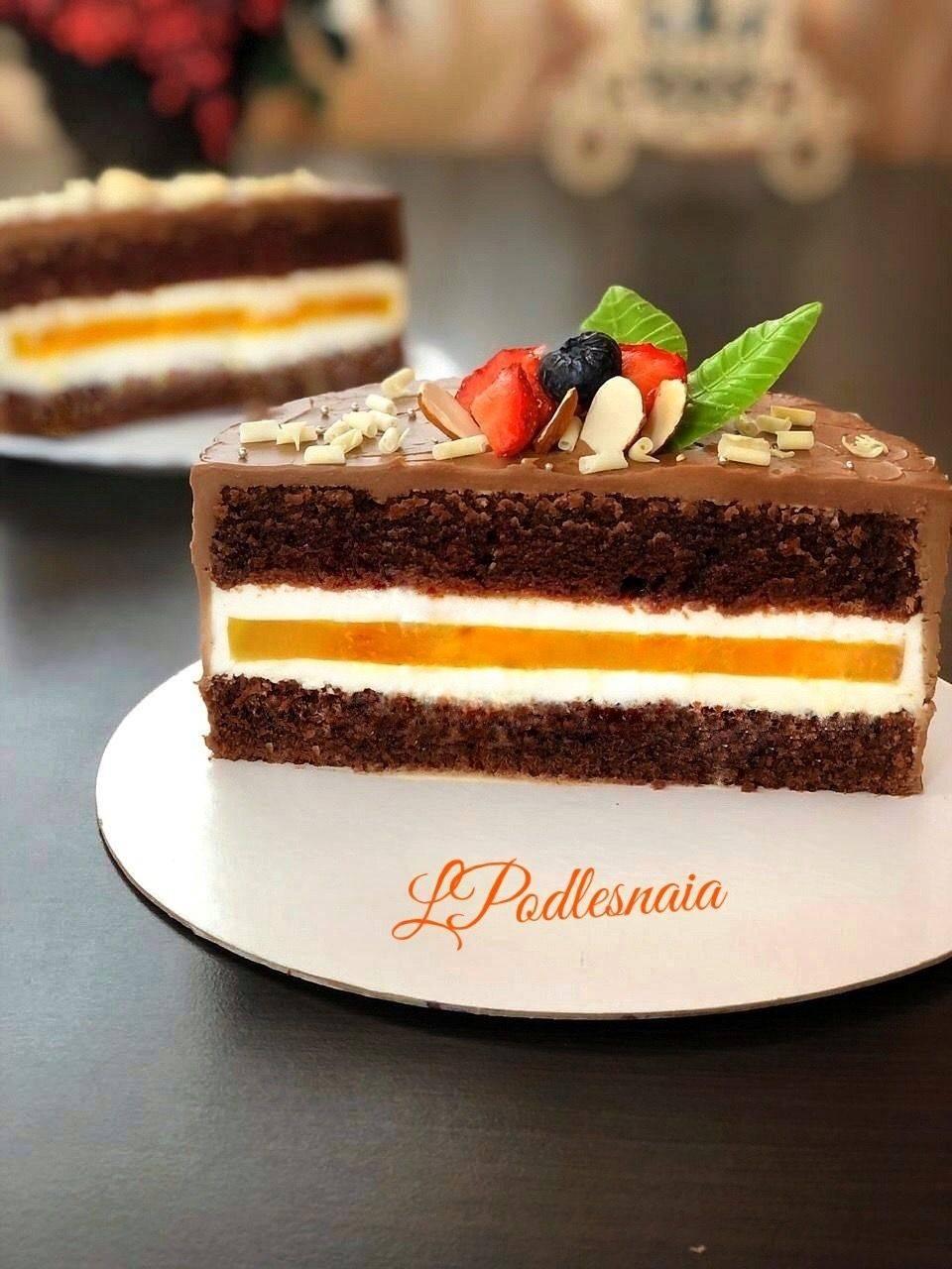 Апельсиновый торт, рецепт с фото пошагово