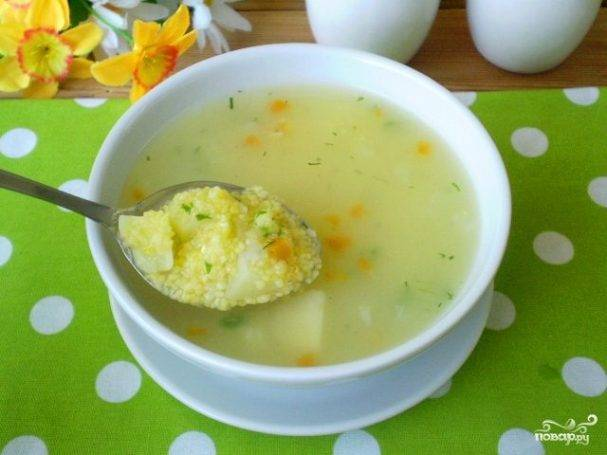 Горохово-кукурузный суп