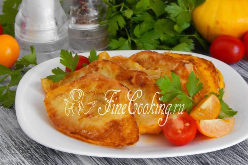 Блюда из патиссонов в духовке - как приготовим