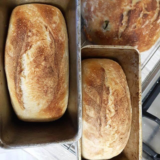 Ржаной хлеб на квасе с подсолнечными семечками