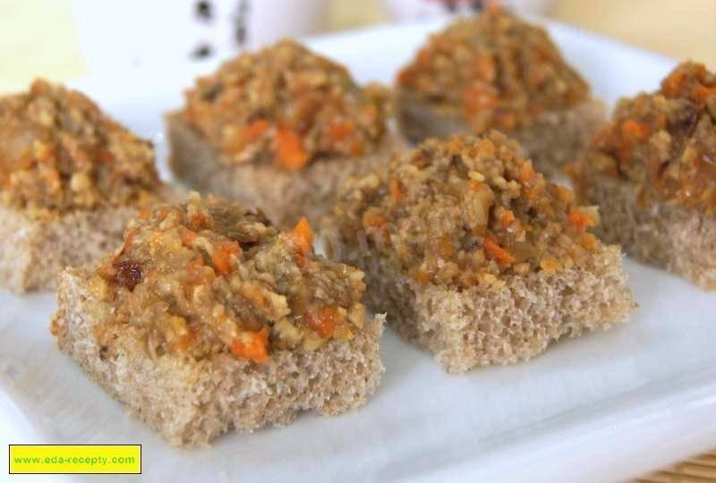 Рецепт грибной икры из шампиньонов - 7 пошаговых фото в рецепте