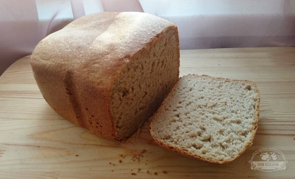 Лучший хлеб из цельнозерновой муки — учимся выпекать в хлебопечке