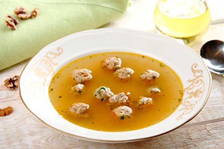 Суп с фрикадельками из говядины. как готовить суп с фрикадельками.