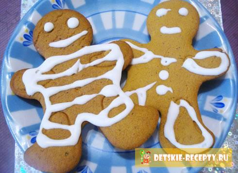 Имбирное печенье - простой и вкусный рецепт, с которым справится любой
