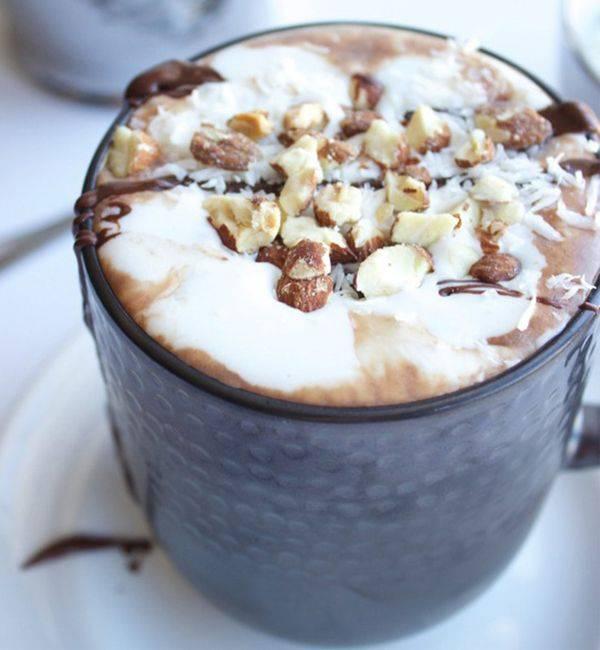 Классический горячий шоколад из тёртого какао