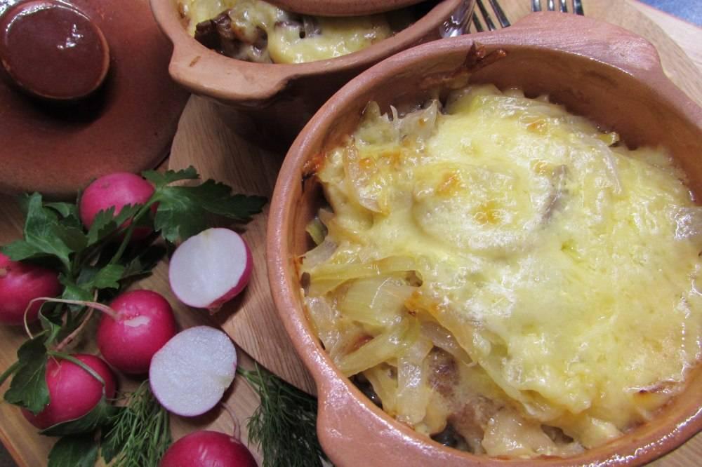 Куриная печень с грибами в сметане - 7 пошаговых фото в рецепте