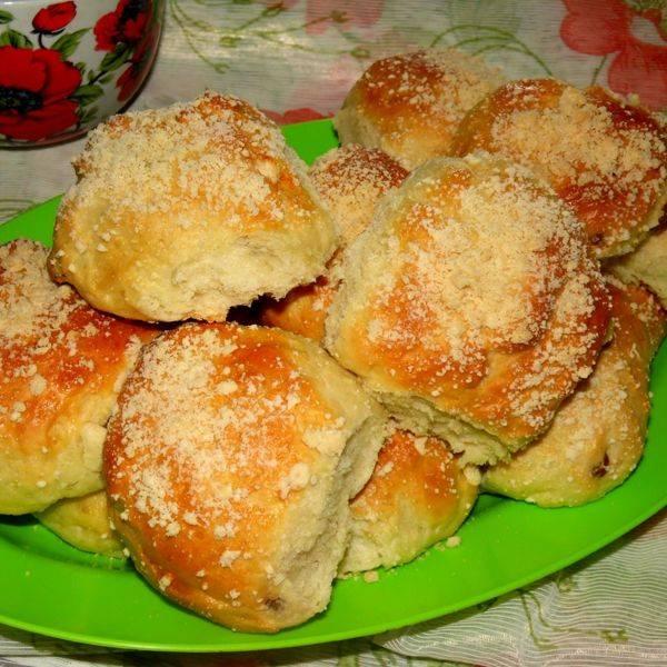 """Булочки """"улитки"""" кокосовые"""
