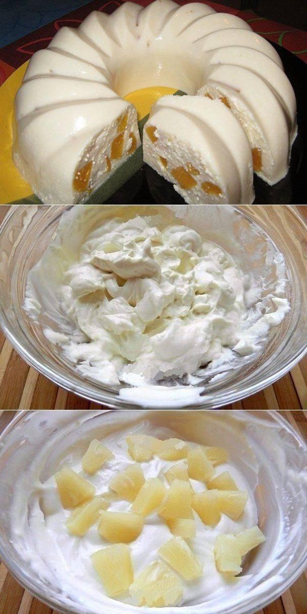 Рецепт нежного десерта бланманже с клубникой