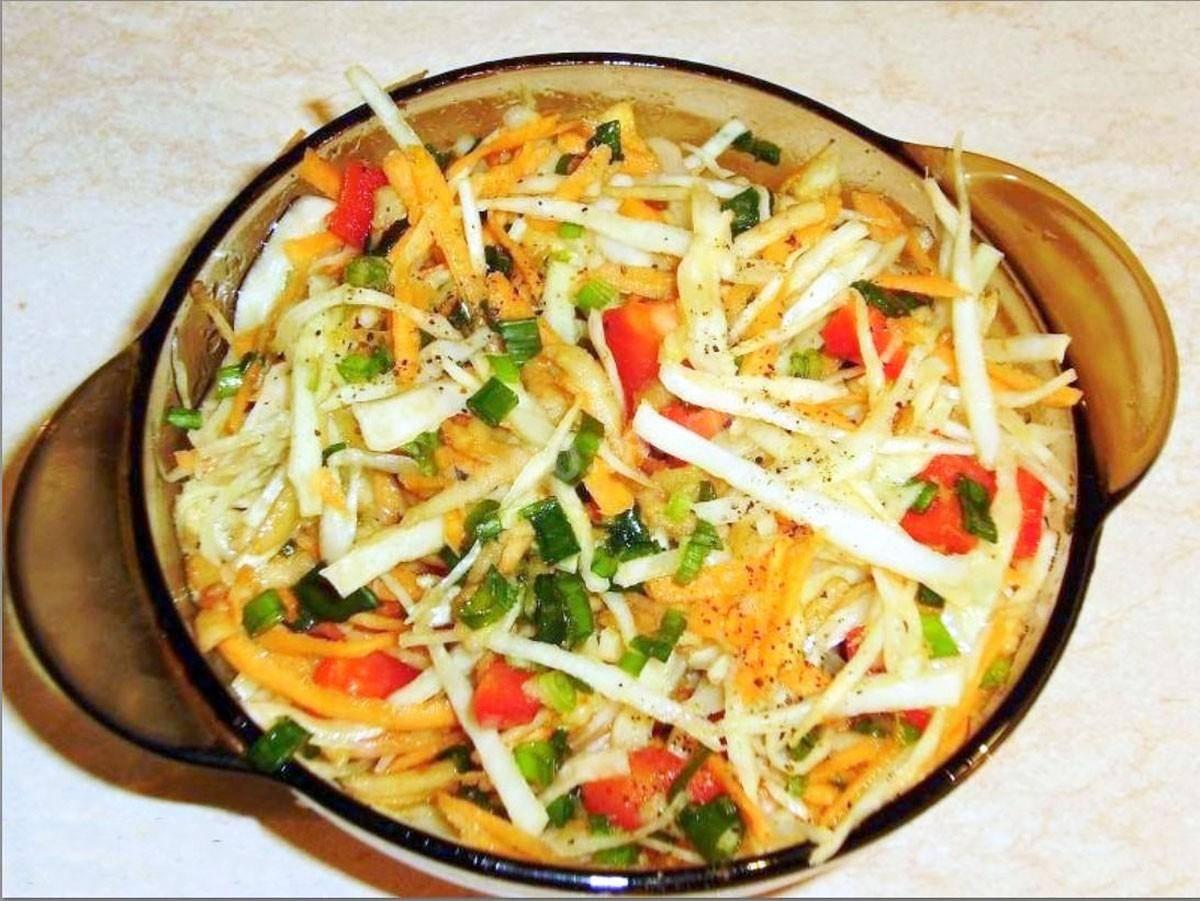Весенний витаминный салат