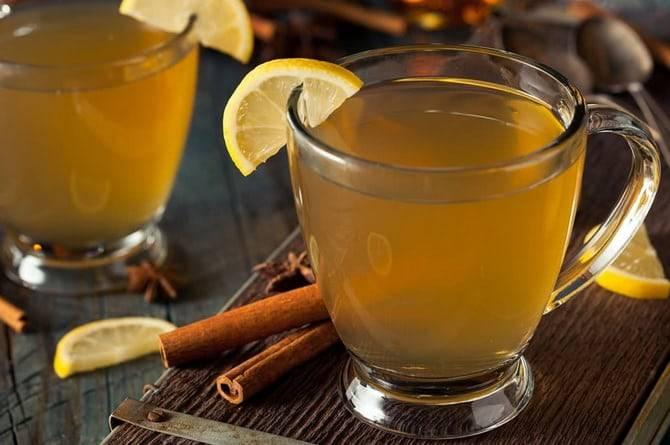 Имбирный горячий лимонад рецепт с фото