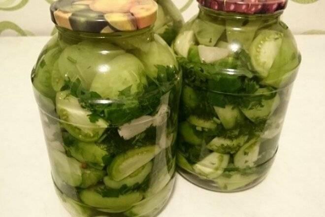 Икра из зеленых помидор на зиму: ингредиенты и этапы приготовления