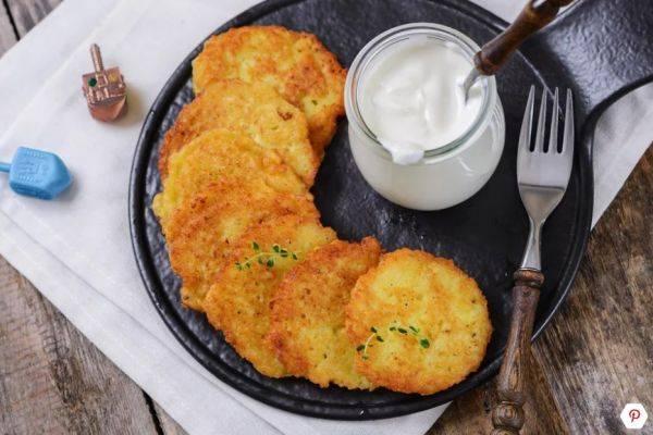 Картофельные латкес по классическому рецепту