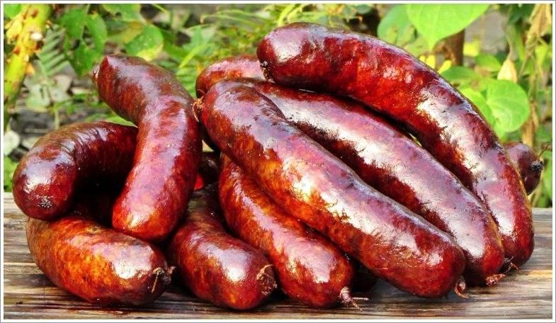 Колбаса из говяжьей головы. домашняя колбаса из свинины и говядины в кишках рецепт с фото. домашняя колбаса из свинины и говядины – ливерная яичная