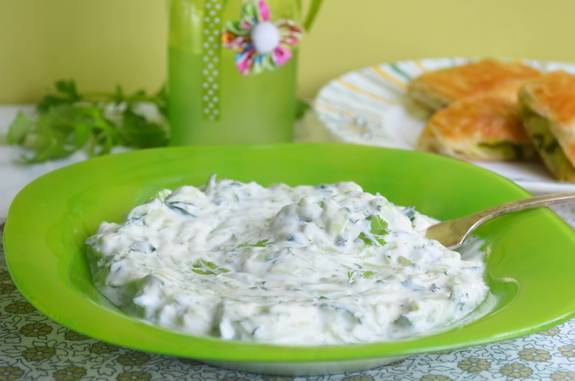 Йогуртовый соус для рыбы