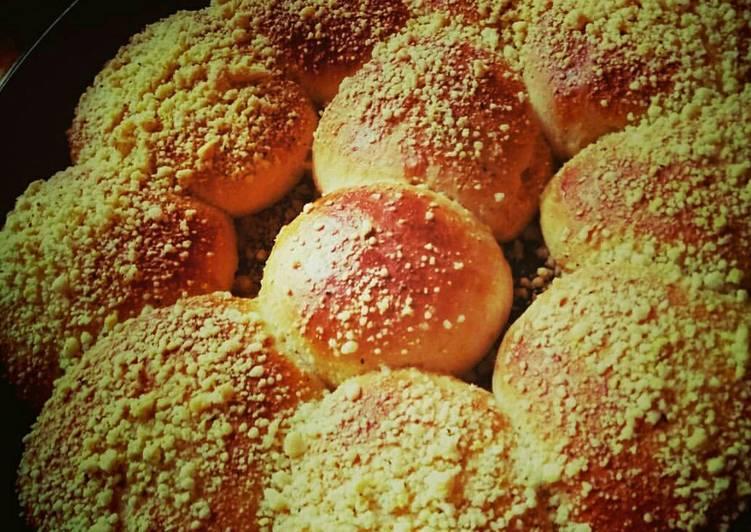 фото рецепт булочек со сладкой посыпкой уже
