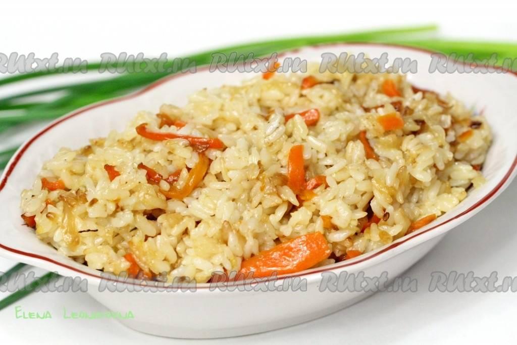 Рис на сковороде за 30 минут