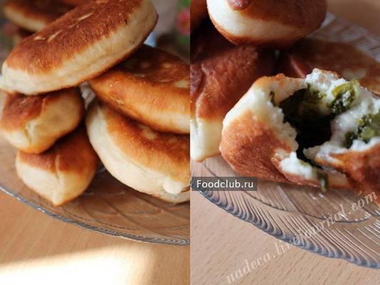 Как приготовить пирожки со щавелем жареные и в духовке. пирожки со щавелем: секрет сочной начинки