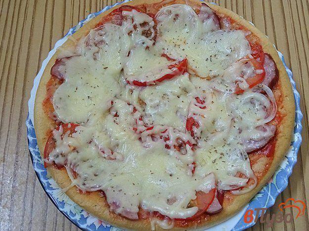 Мини пицца из кабачков