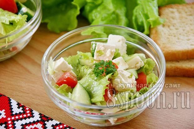 """Овощной салат """"популярный"""""""