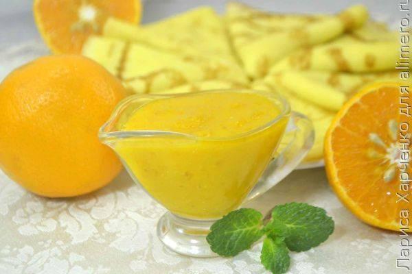 Изысканный мандариновый соус - подробный рецепт
