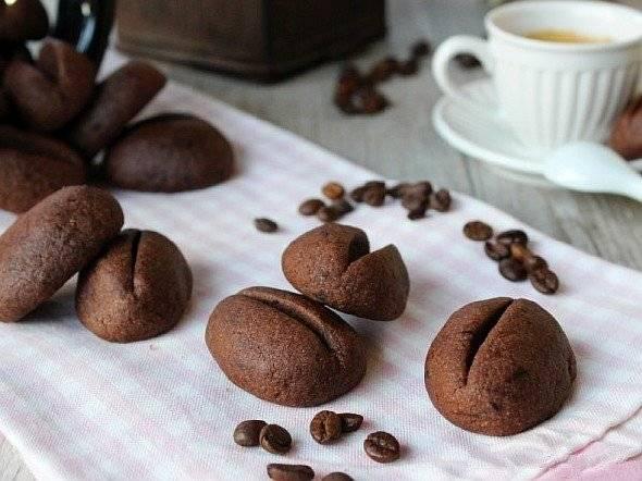 """Печенье """"кофе в зернах"""" - для тех, кто ценит дизайн угощения: рецепт"""