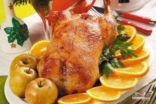 Утка с яблоками и клюквой. - запись пользователя мама ната (lepestok4) в сообществе кулинарное сообщество в категории блюда из птицы - babyblog.ru