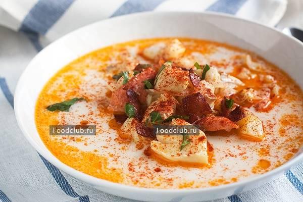 Рецепты суп чаудер