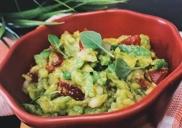 "Соус из авокадо ""гуакамоле"""