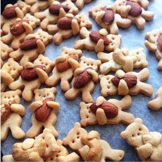 """Печенье """"Мишки с орехами"""""""
