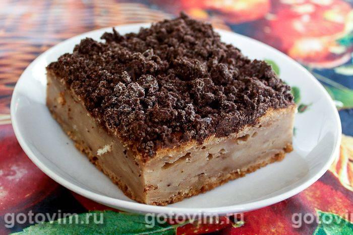 Кокосово-цитрусовый кекс со штрейзелем