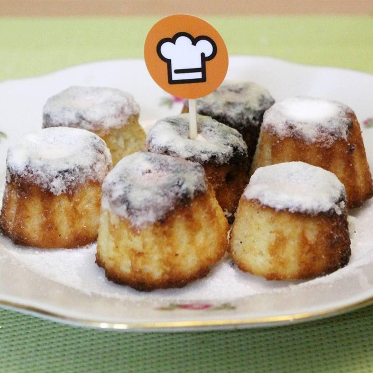 Французский десерт — лимонные каннеле