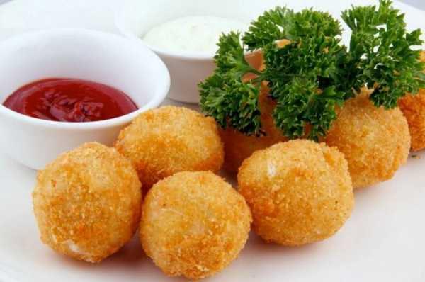 Сырные шарики закуска рецепт