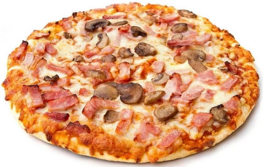 Пицца салями, рецепт с фото пошагово