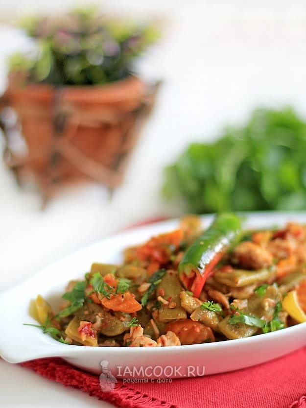 Блюда из замороженной стручковой фасоли - рецепты лобио, салата, супа, рагу и запеканки