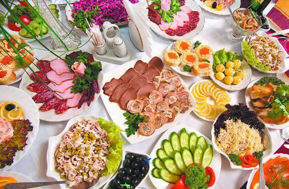 Быстрые закуски на праздничный стол