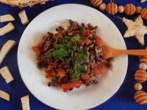Грибная икра из замороженных грибов: рецепт с фото пошагово