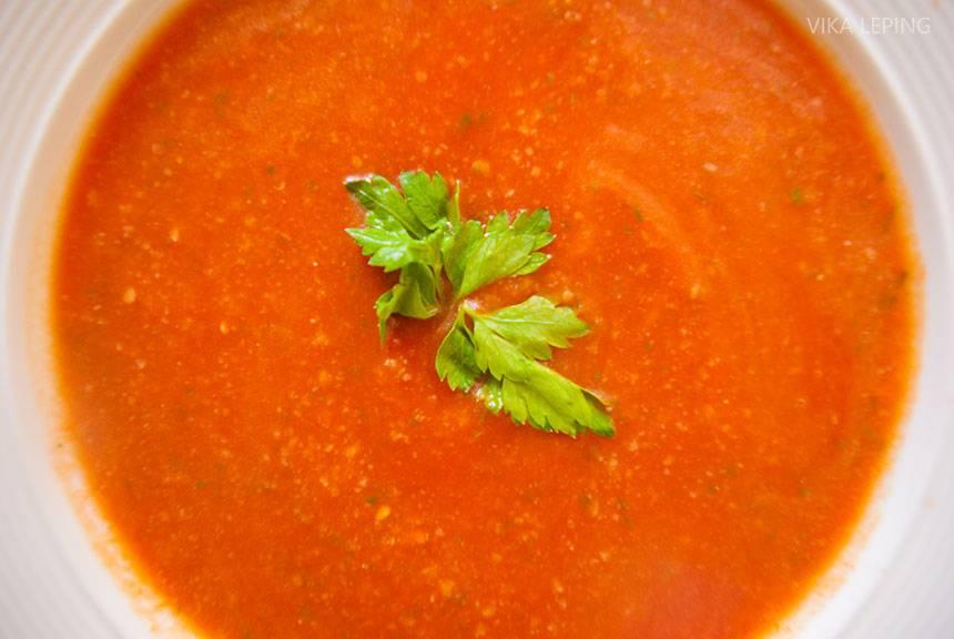 Классический рецепт гаспачо для поклонников испанской кухни
