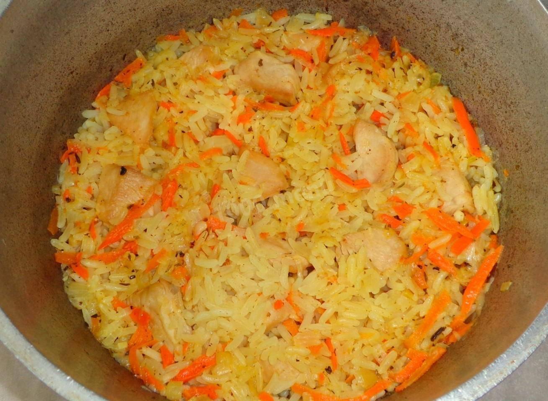 Плов из индейки, рецепт с фото пошагово