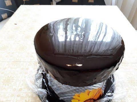 Глазурь из шоколада и масла для украшения кондитерских изделий