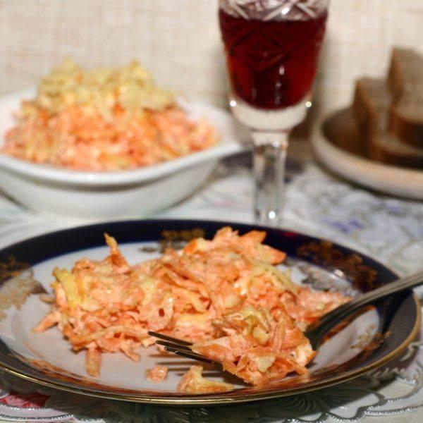Салат с морковью и семечками рецепт с фото