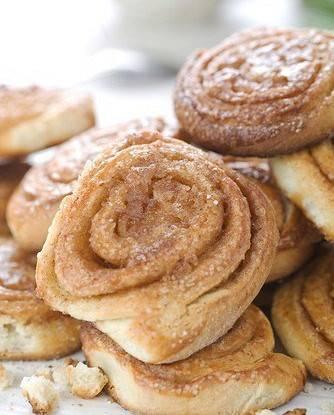 Сахарные плюшки — рецепт на скорую руку!