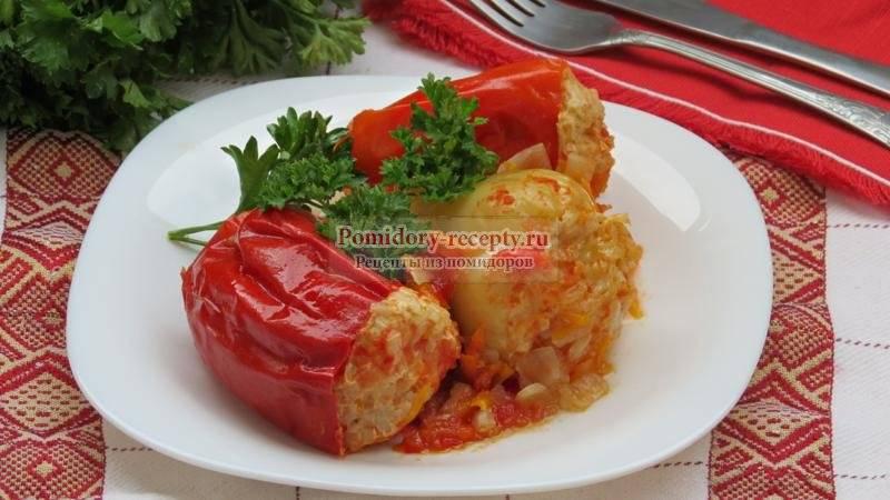 Фаршированный перец в мультиварке пошаговые рецепты с фото  | вторые блюда в мультиварке