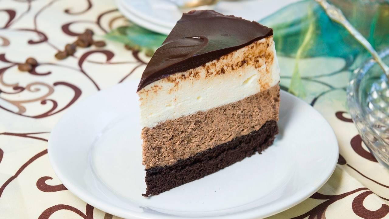 Суфле под шоколадной глазурью