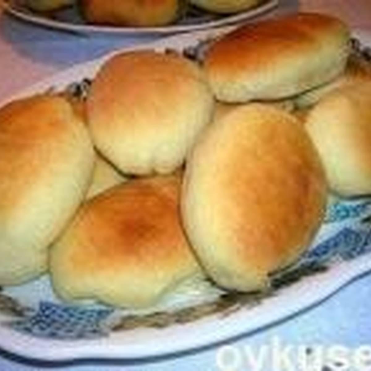 Пирожки из «хрущёвского» теста с рисом и яйцом