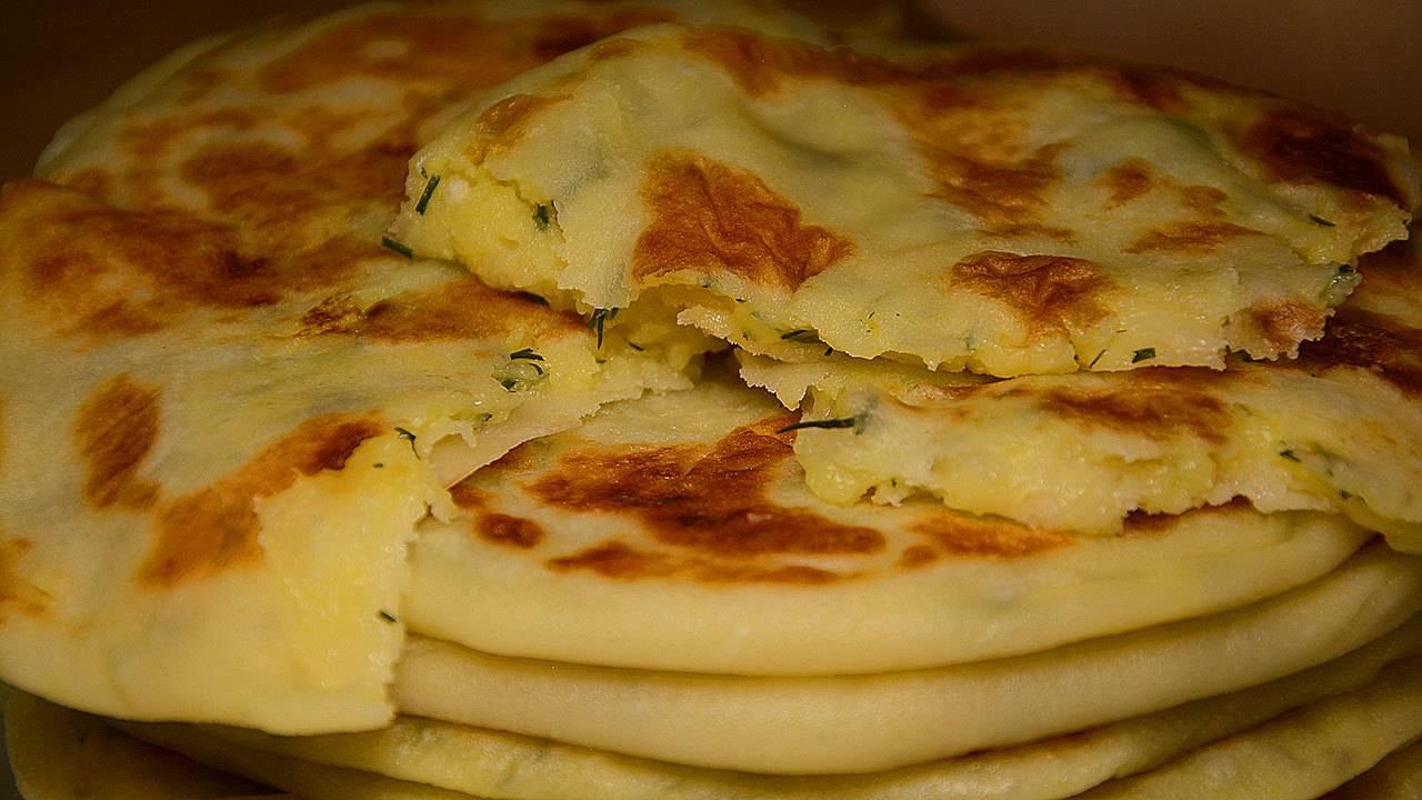 Картофельные лепешки с сыром