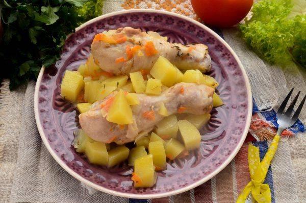 Как приготовить куриные голени с картошкой в мультиварке: 3 рецепта - onwomen.ru