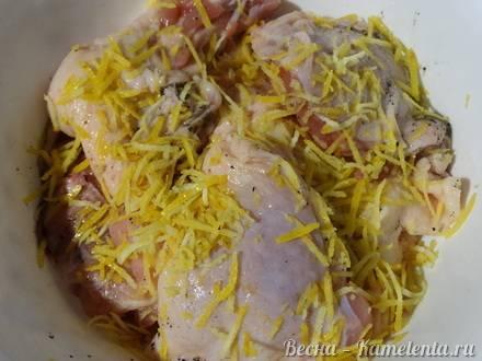 Куриная грудка с лимонной цедрой