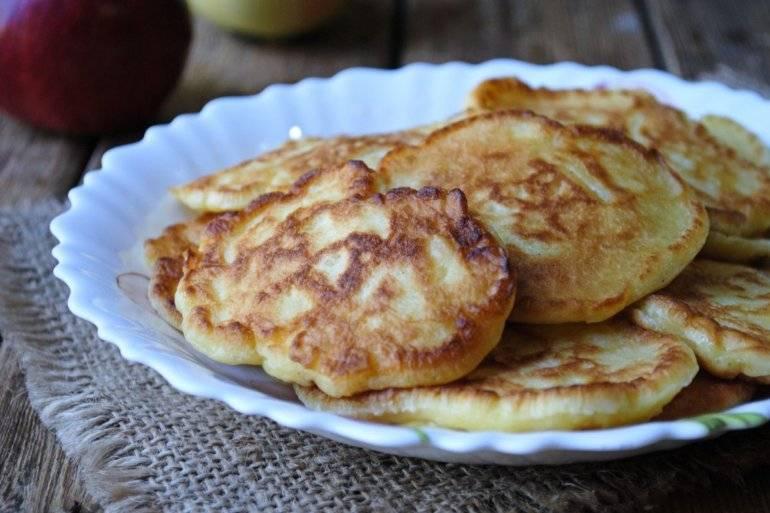 Рецепт приготовления вкусных оладий с творогом
